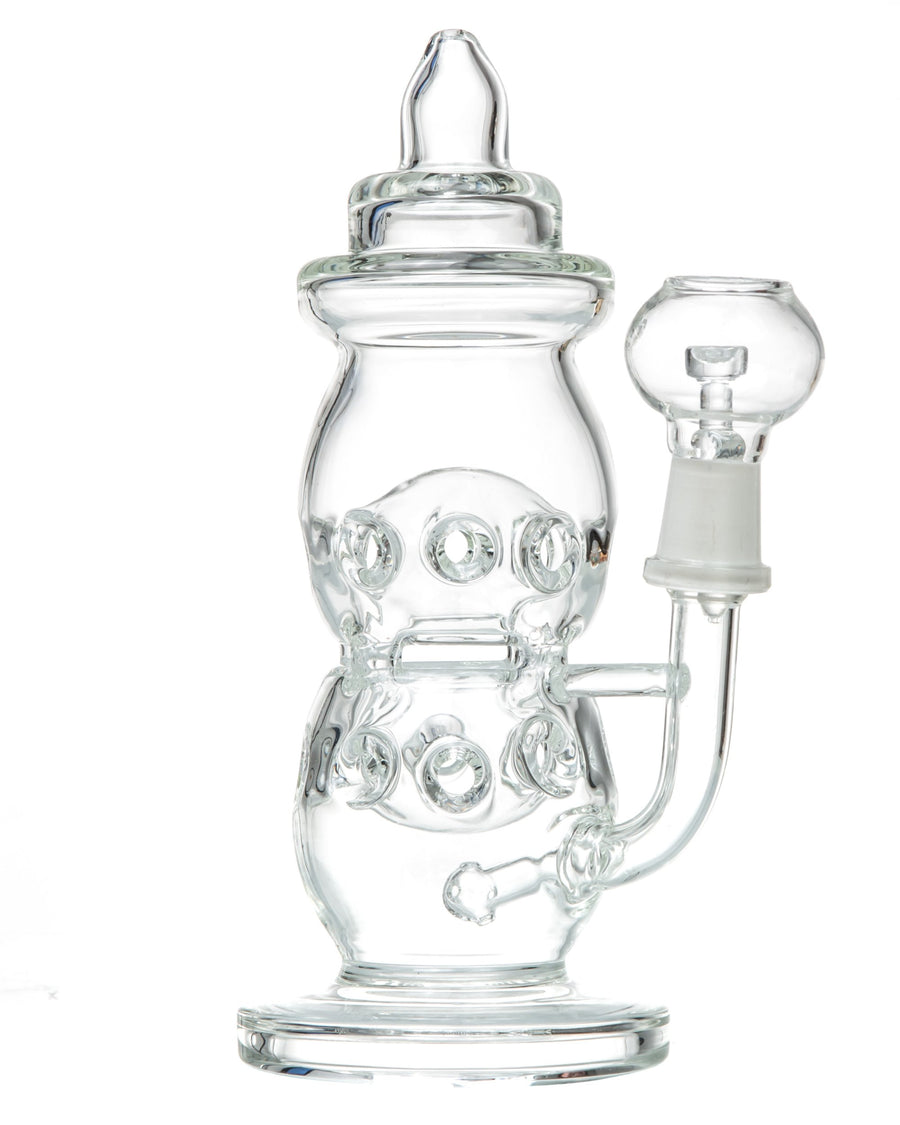 DankStop - Clear Baby Bottle Dab Rig