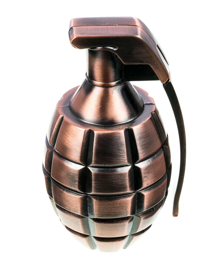 Copper Grenade Herb Grinder
