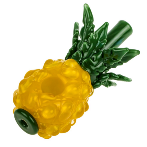 """The Pineapple Express"" Glass Spoon Pipe"