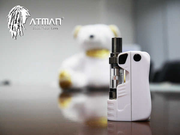 Product Review: Atman Lucky Bear CBD/THC Mini Mod Vaporizer – Key to