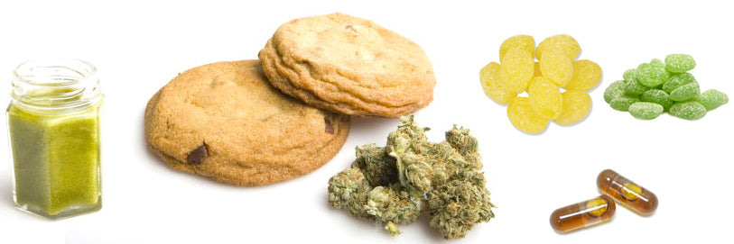 types of edibles and weed