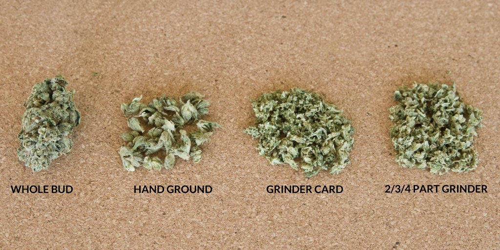 Different ways to grind cannabis