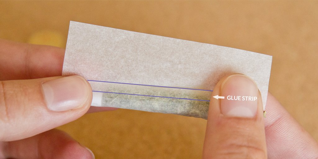 How to tuck the glue strip with inside out joint