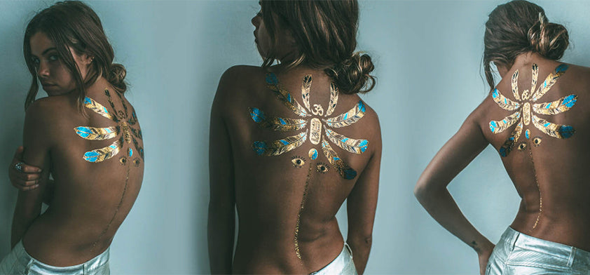 iamu collective metallic tattoos