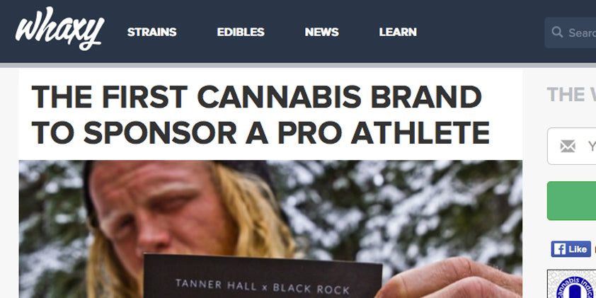 Whaxy: Black Rock Sponsors Pro Athlete