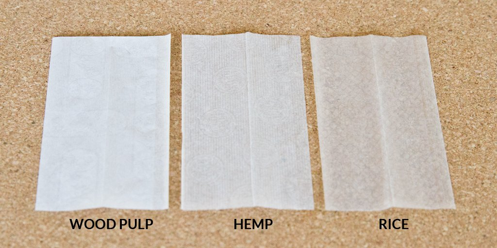 The best types of rolling papers