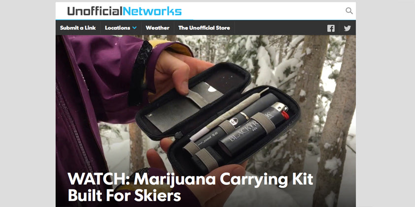black rock originals review Weed Carrying Case for Skiers