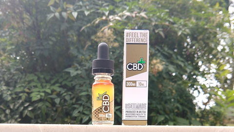 CBDfx CBD Oil Vape Additive 300mg front