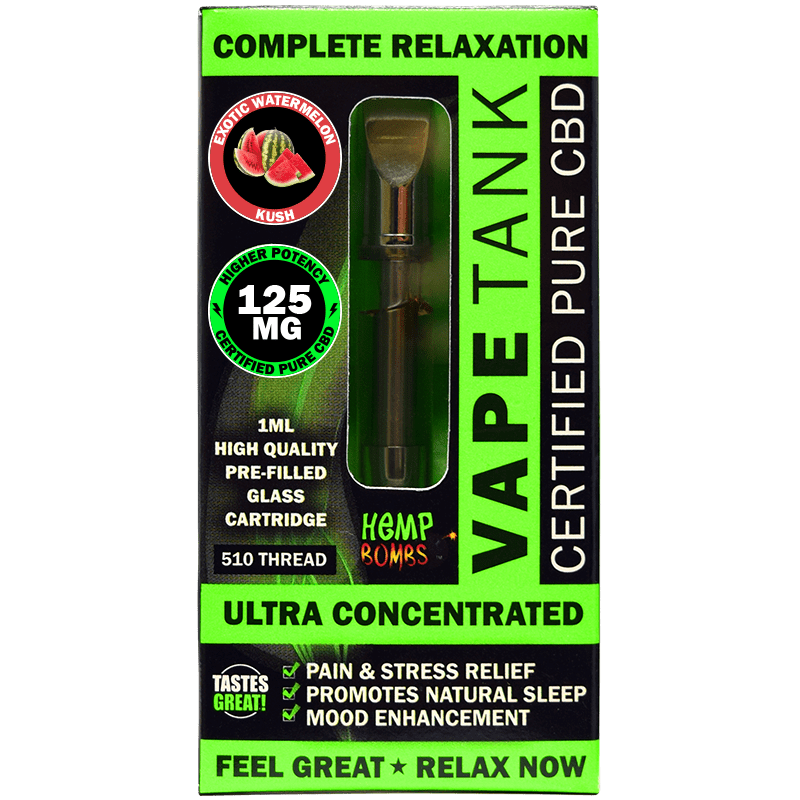 Hemp Bombs CBD Vape Oil Cartridge Product Review