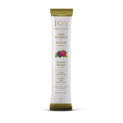 Joy Organics CBD Energy + Focus Happy Berry Drink Mix Product Review