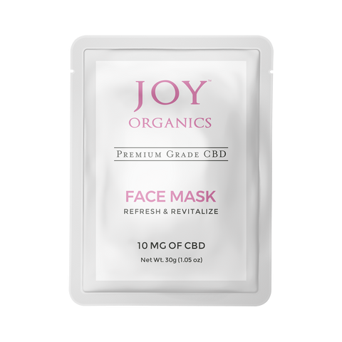 Joy Organics CBD Face Mask Product Review