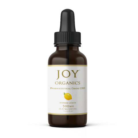Joy Organics CBD Oil Tincture Product Review