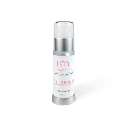 Joy Organics CBD Eye Serum Product Review