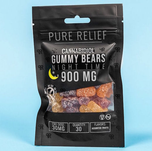Pure Relief Cannabidiol Night-Time Gummy Bears Product Review
