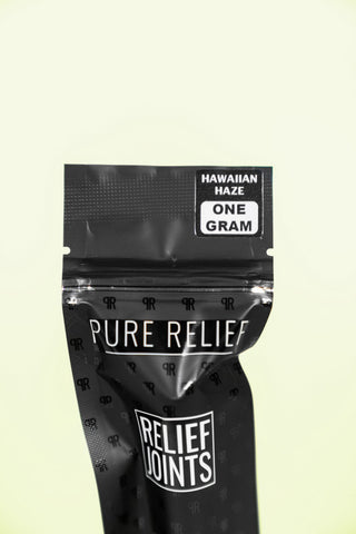 Pure Relief Raw Hemp CBD Flower Relief Rolls Product Review