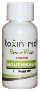 Toxin Rid Rescue Wash Mouthwash Product Review