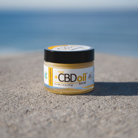 PlusCBD Oil Extra Strength Hemp Balm Product Review