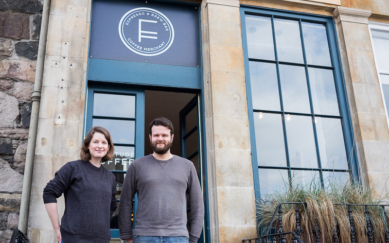 Introducing: Fortitude Coffee Roasters from Edinburgh