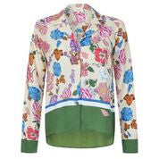 Melanie Press Collection Jodie Silk Macro Blouse