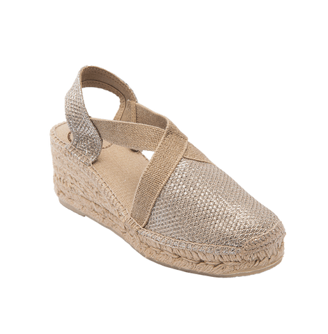 Toni pons espadrille sandal press