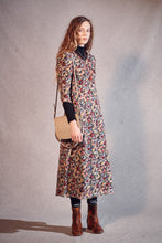 Load image into Gallery viewer, Masscob floral print long dress in cotton