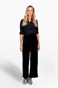 Melanie Press Jimi velvet pant