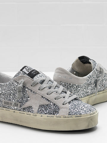 golden goose glitter silver ice may