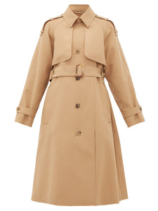 Serenity single-breasted trench coat