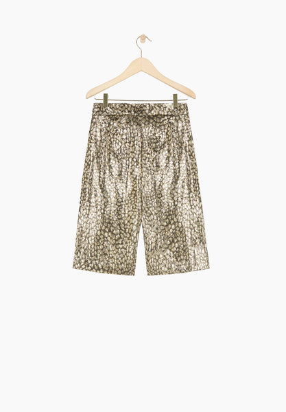 masscob tranvia metallic shorts