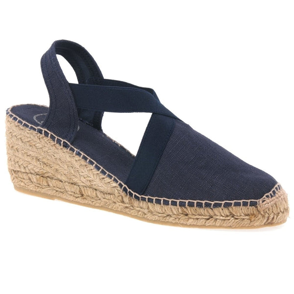 Espadrille in Navy by Toni Pons