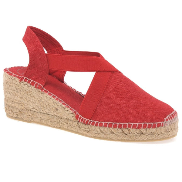 Espadrille in Red by Toni Pons
