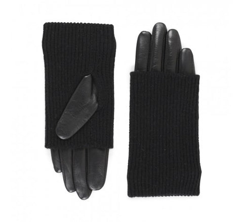 Markberg Gloves in Black Leather