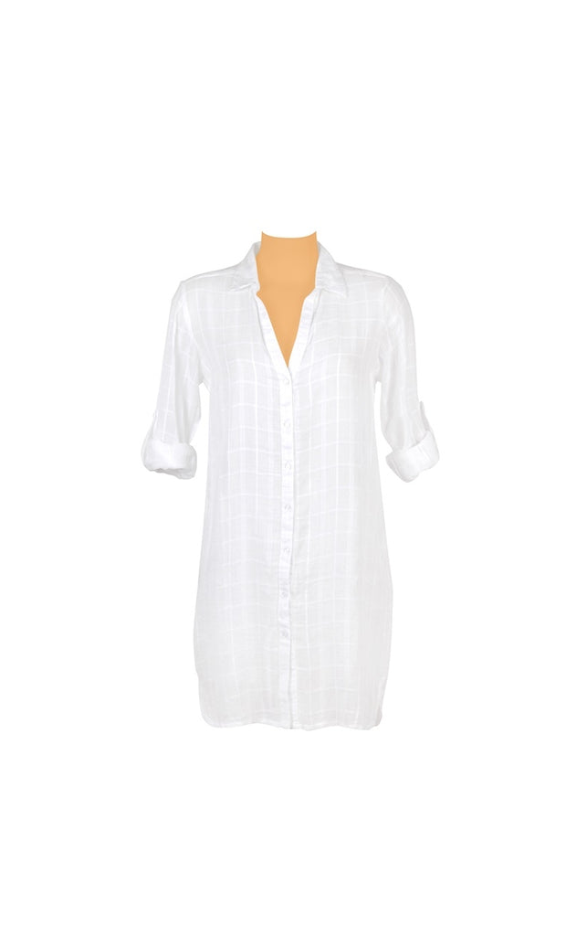HF white shirt long