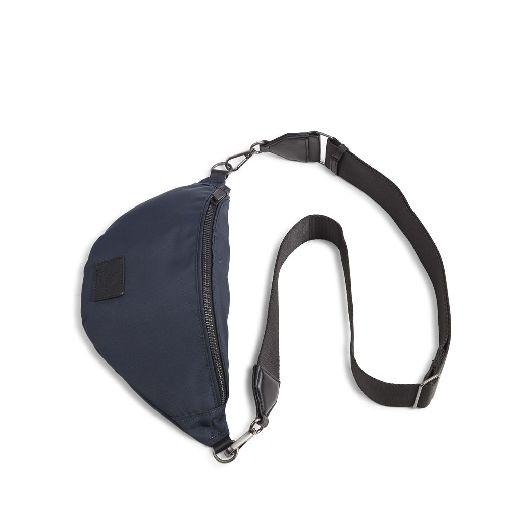 Crossbody Elinor recycled bumbag in blue