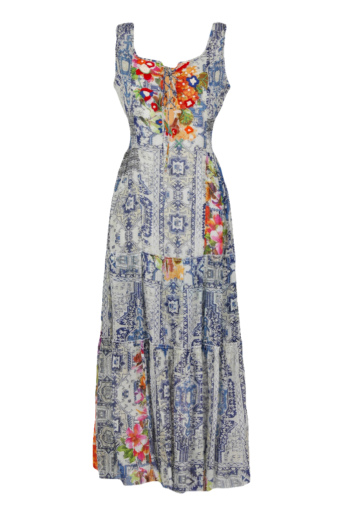 Happy Few By Terre Rouge Print Maxi Dress