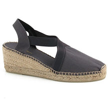 Load image into Gallery viewer, Espadrille in Grey by Toni Pons