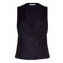 Load image into Gallery viewer, Melanie Press for Lardini Waistcoat Black
