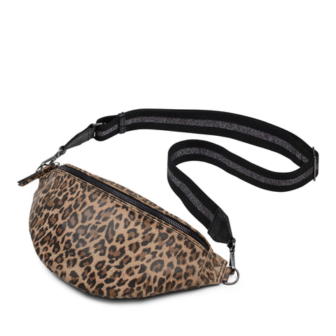 leopard bum bag