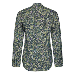 Cord botanical shirt