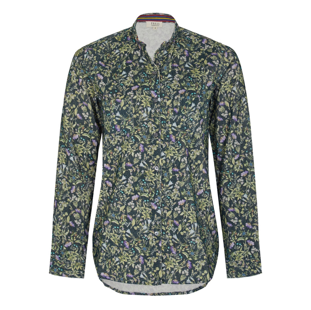 Cord botanical Boy shirt Melanie Press Collection