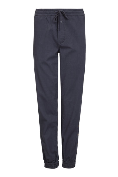 Melanie Press collection cabel pant in cotton twill