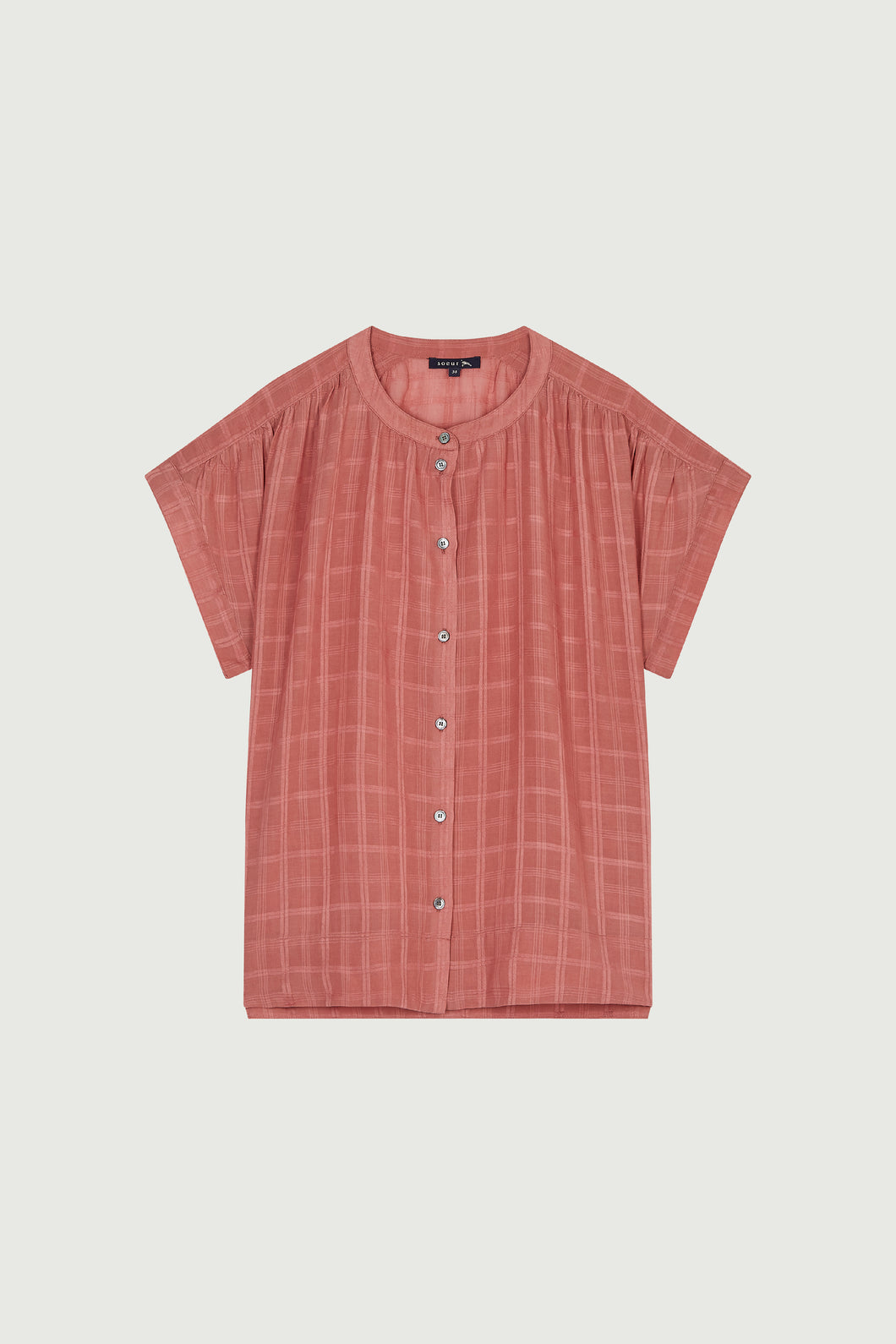Mirmande rose shirt