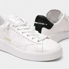 Load image into Gallery viewer, Pure Star White Leather Sneakers