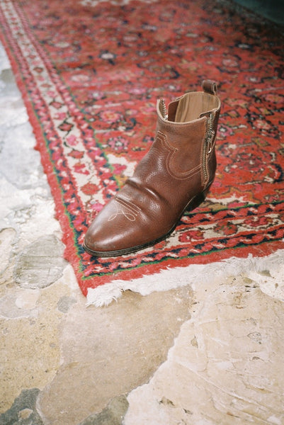 Western Viand Boot in Brown