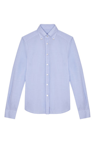 oxford jersey shirt button down