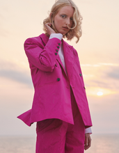 Load image into Gallery viewer, Taffeta Jacket Fuchsia