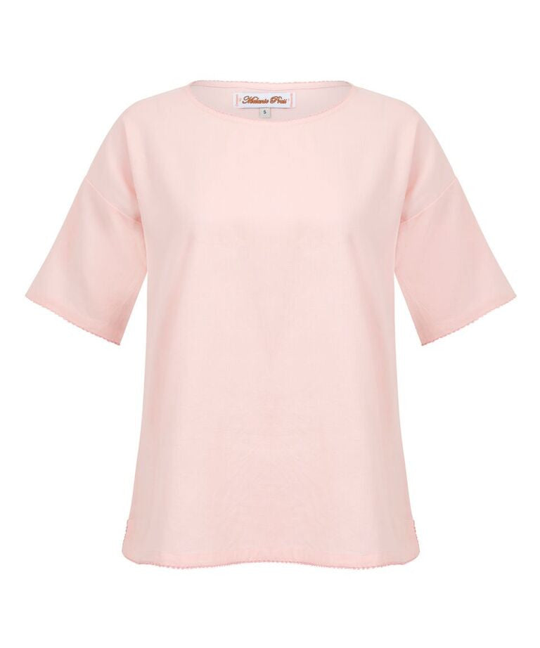 Melanie Press Kurty Tee Light Pink