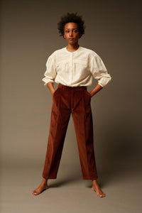 Johno brown cord pant