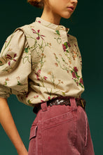Load image into Gallery viewer, Lola beige rose blouse