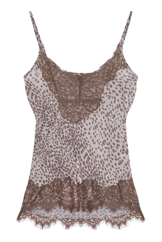 Melanie Press collection lucy top in grey leo